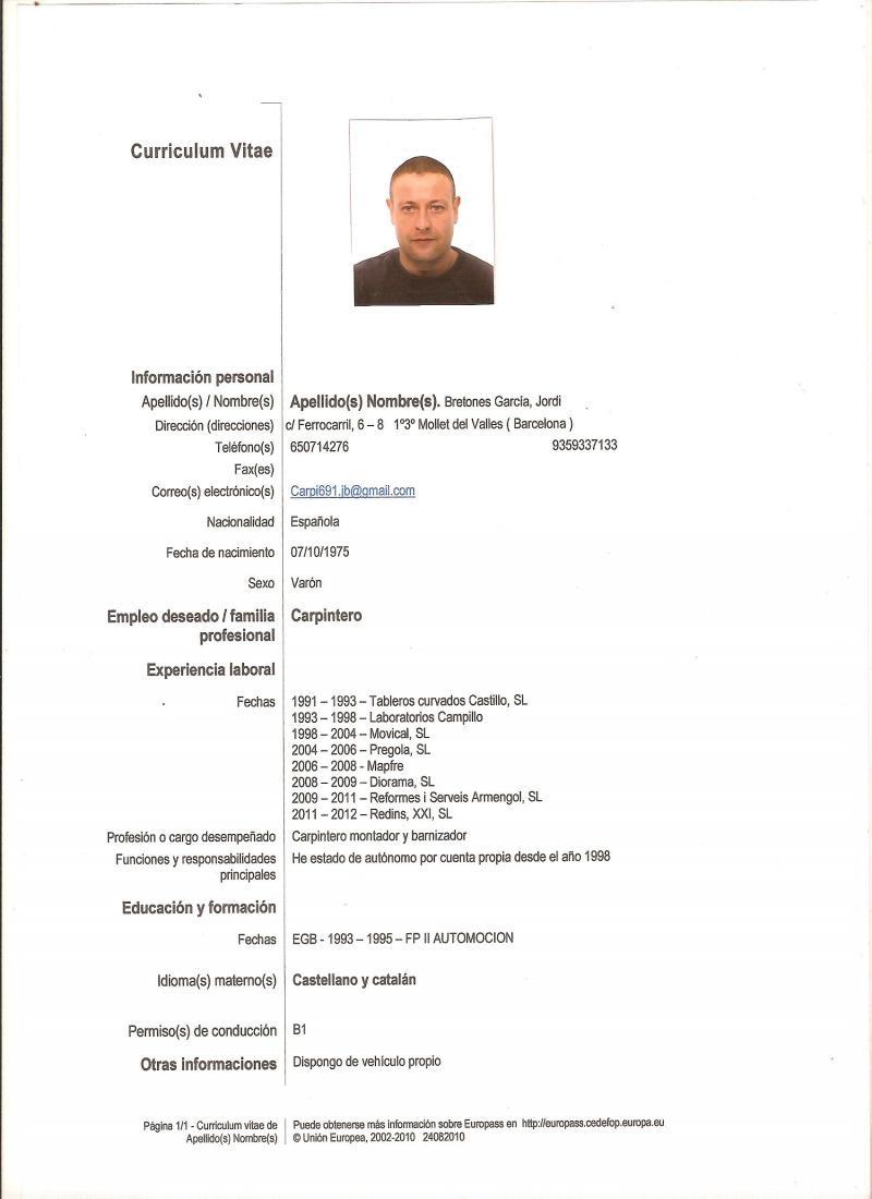 Profesionales y expertos de carpinter a en provincia de - Carpintero en barcelona ...